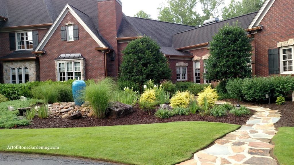 Fountain adds curb appeal