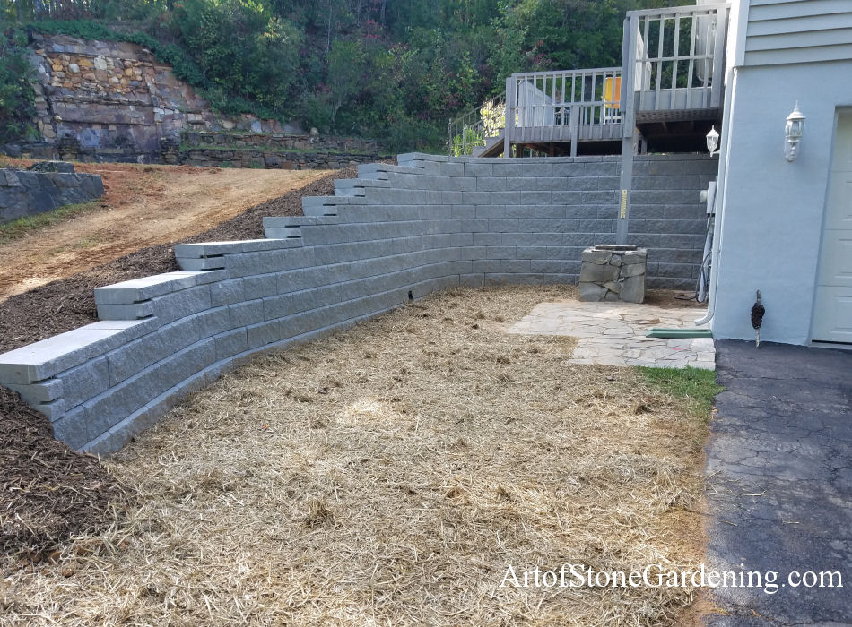 Two Of The Main Types Retaining Walls Are Made Wood Or Cement Blocks Both Materials Have Their Pros And Cons So Which One Would Be Best For Your