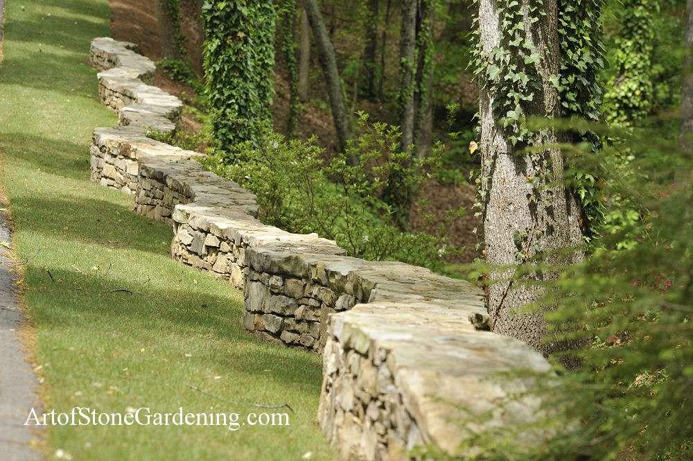 Build A Freestanding Garden Wall
