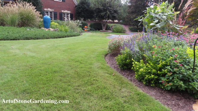 Edging landscape beds