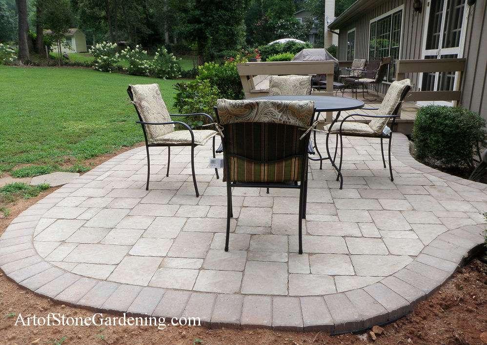 Belgard paver patio