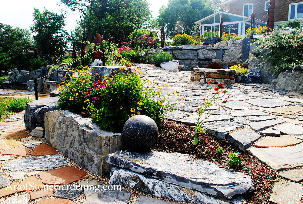Planting pocket garden