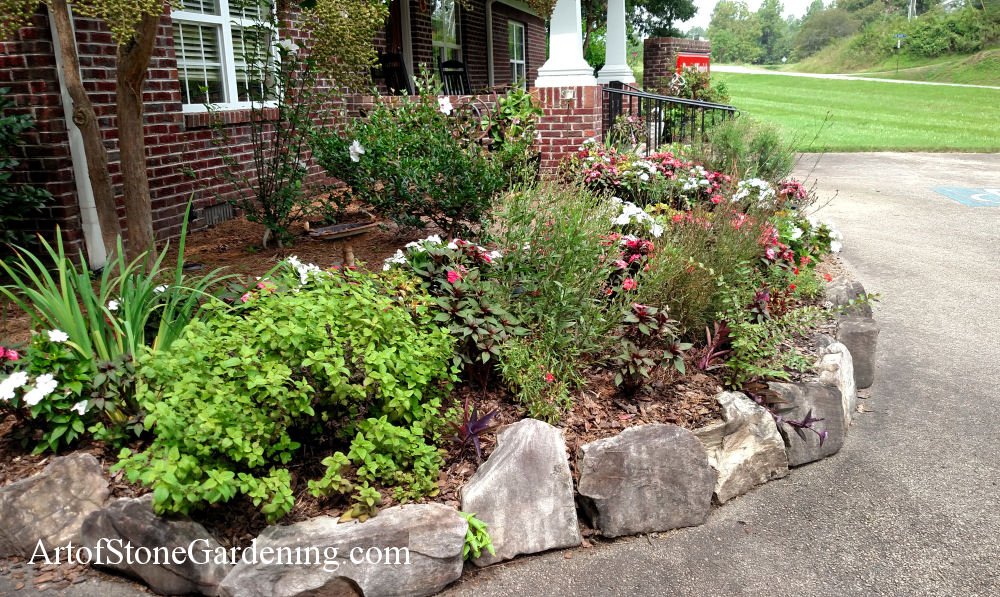 Using Stone For Landscape Borders And Edging Art Of Stone Gardening