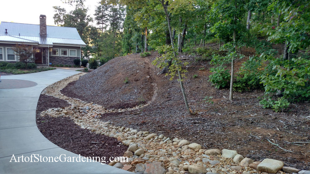 Gravel and drainage in Gainesville, GA