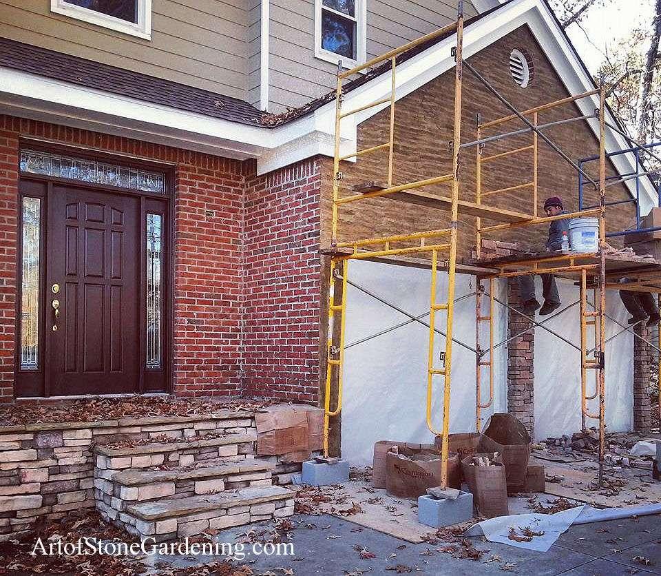 Home Remodeling: Exterior Stone Veneer | Art of Stone Gardening