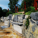Boulder gravity wall for erosion control